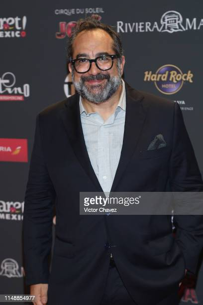 Eugenio Caballero attends the red carpet of the Premios Platino 2019 at Occidental Xcaret Hotel on May 12, 2019 in Playa del Carmen, Mexico.