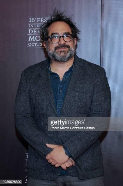 Eugenio Caballero poses during the red carpet of Netflix film 'Roma' directed by Alfonso Cuaron as part of Festival Internacional de Cine de Morelia...