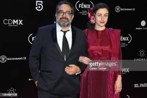 Eugenio Caballero poses for photos during the red carpet of Iberoamerican Fenix Film Awards 2018 at Teatro de la Ciudad Esperanza Iris on November 7,...