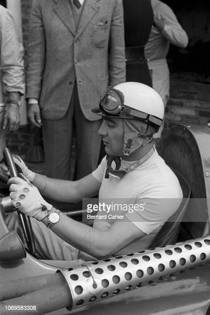 Eugenio Castellotti, Ferrari 555, Grand Prix of the Netherlands, Circuit Park Zandvoort, 19 June 1955. Eugenio Castellotti was the best finishing...