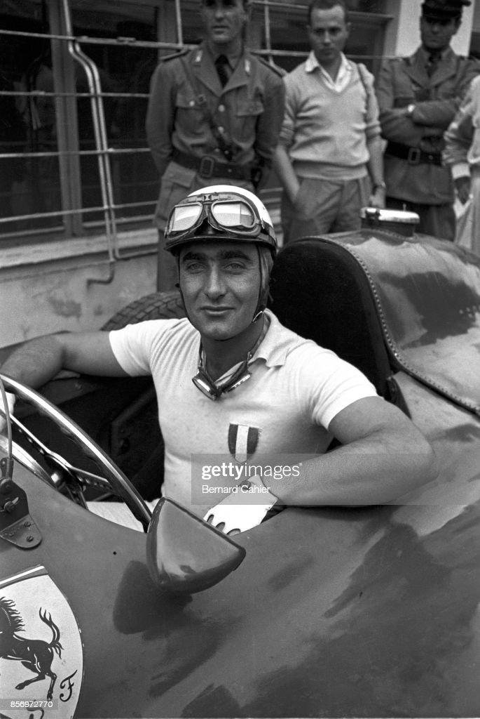 Eugenio Castellotti, Grand Prix Of Italy : ニュース写真