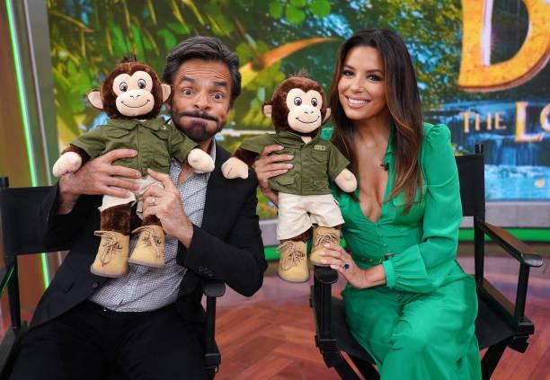 """FL: Celebrities Visit Telemundo's """"Un Nuevo Dia"""""""