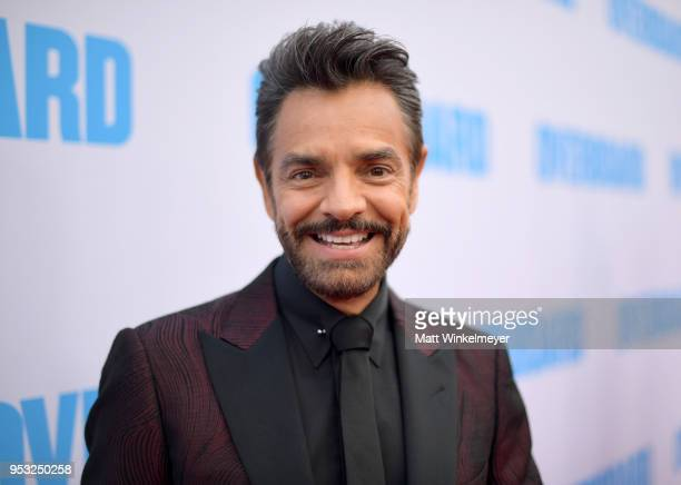 Eugenio Derbez attends the premiere of Lionsgate and Pantelion Film's Overboard at Regency Village Theatre on April 30 2018 in Westwood California
