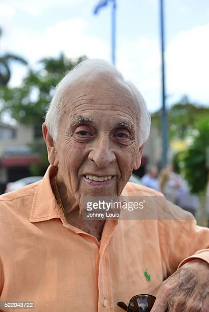 Eugenio Rolando Martinez former member of the antiCastro movement and pardoned watergate burglar attends the Bay of Pigs invasion 55th anniversary...