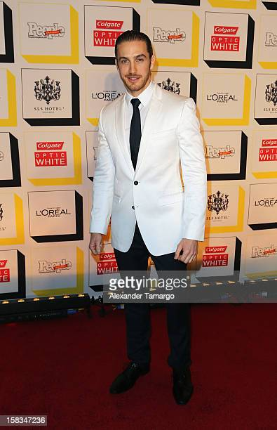 Eugenio Siller arrives at People en Espanol celebrates The Stars of the Year at SLS South Beach on December 13 2012 in Miami Florida