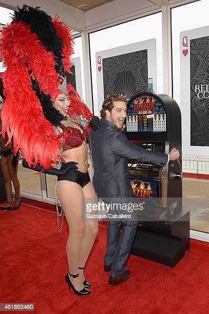 Eugenio Siller attends Premiere of Telemundos 'Reina De Corazones' at Port of Miami on July 7 2014 in Miami Florida