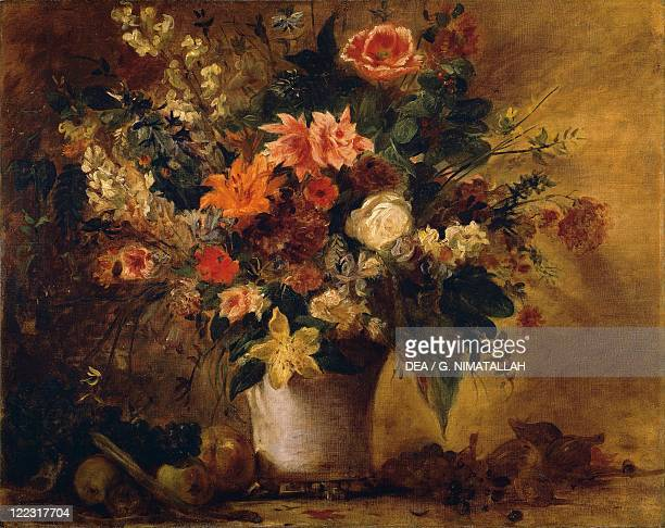 Eugène Delacroix Flowers and Fruit