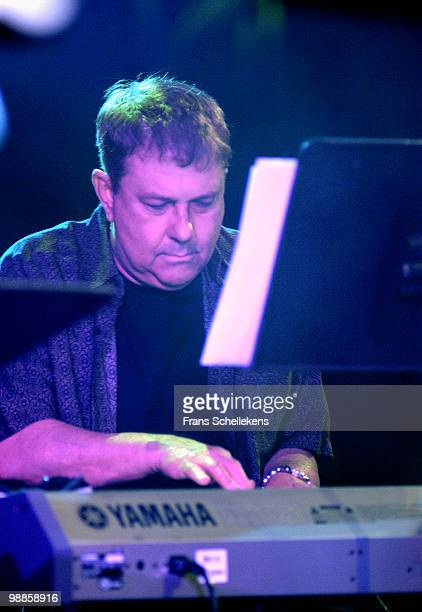 Eumir Deodato performs live on stage at the North Sea Jazz festival in The Hague, Holland on July 12 2003