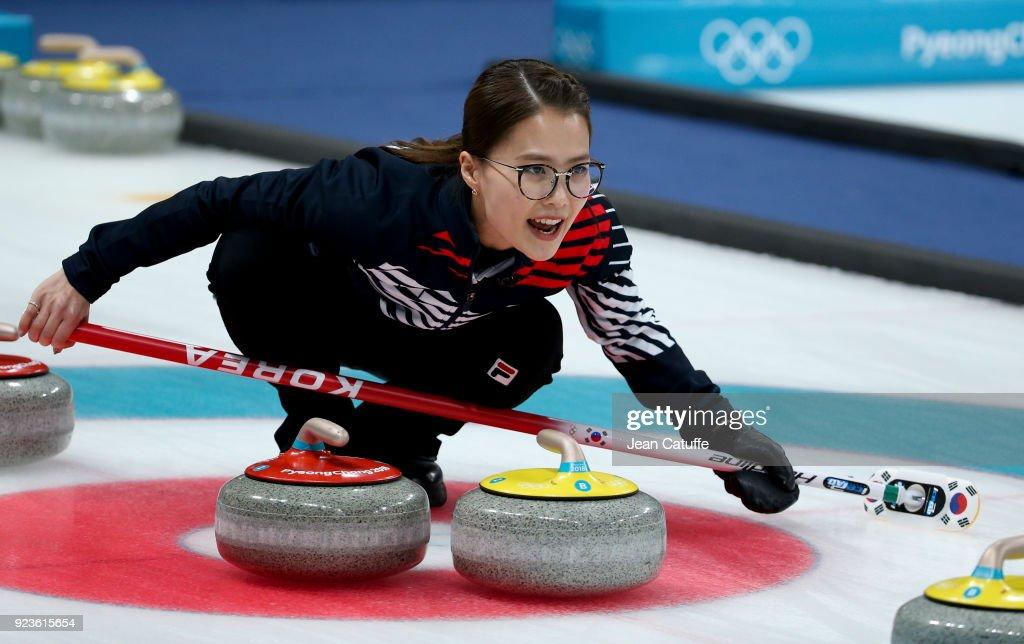 Curling - Winter Olympics Day 14 : ニュース写真