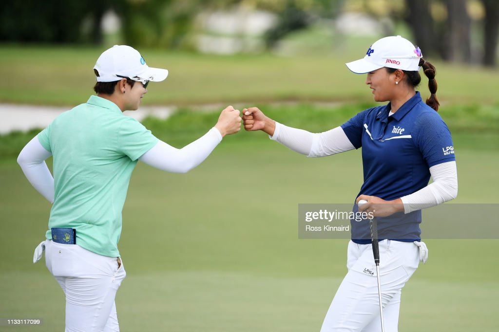 HSBC Women's World Championship - Day Three : News Photo
