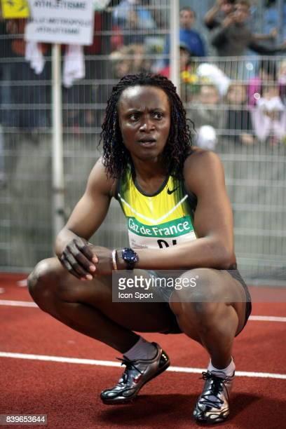 Eunice BARBER Meeting de Villeneuve d Ascq 200 metres