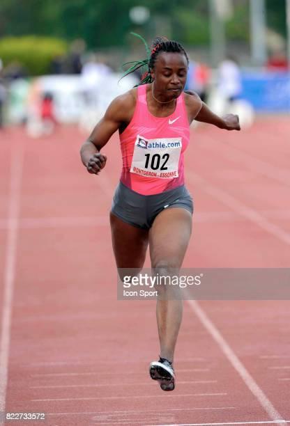 Eunice BARBER 100 metre Meeting de Montgeron
