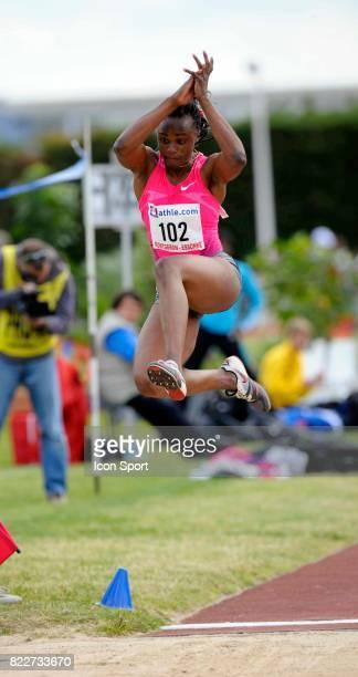 Eunice BARBER saut en longueur Meeting de Montgeron