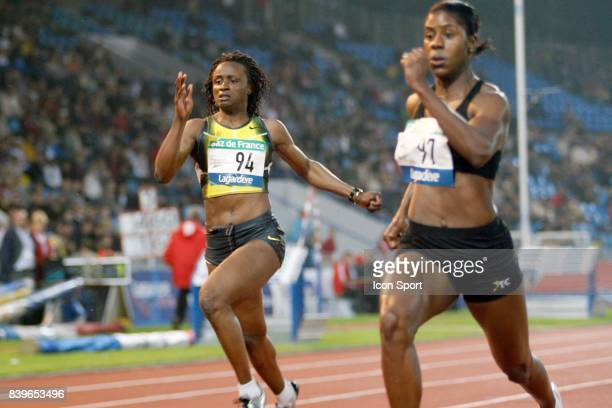Eunice BARBER 200m Meeting d athletisme Lille Metropole Stadium Nord de Villeneuve d Ascq