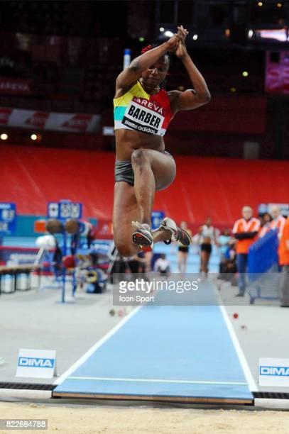 Eunice BARBER Championnat de France en salle Longueur Bercy Paris
