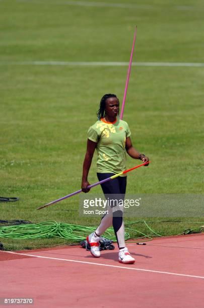 Eunice BARBER Javelot Championnats de France Elite Athletisme Angers