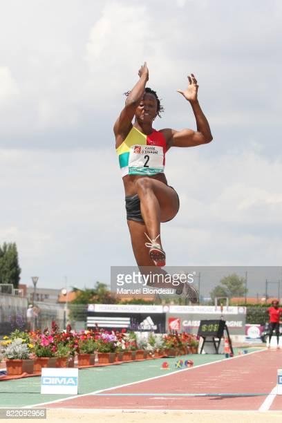Eunice BARBER Saut en Longueur Championnats de France Athletisme Elite 2008 Albi