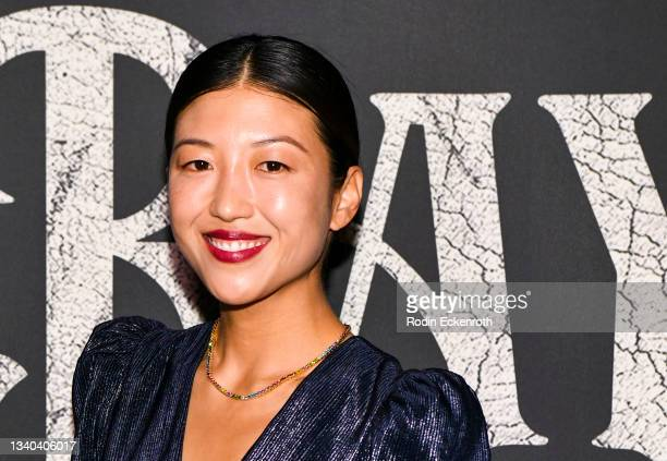 """Eunice Jera Lee attends the Los Angeles Premiere of Focus Features' """"Blue Bayou"""" at DGA Theater Complex on September 14, 2021 in Los Angeles,..."""