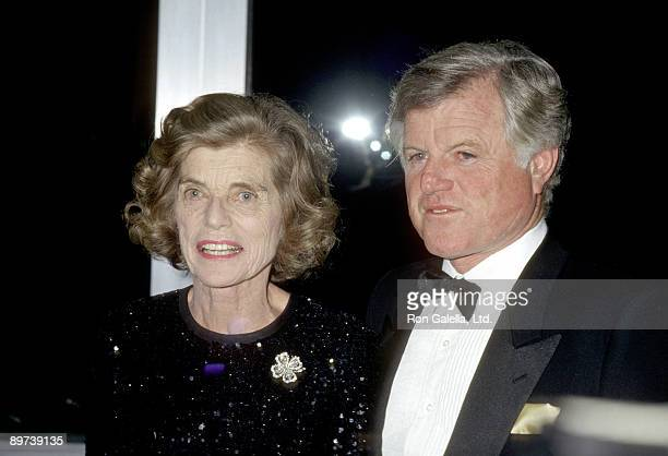 Eunice Kennedy Shriver and Ted Kennedy