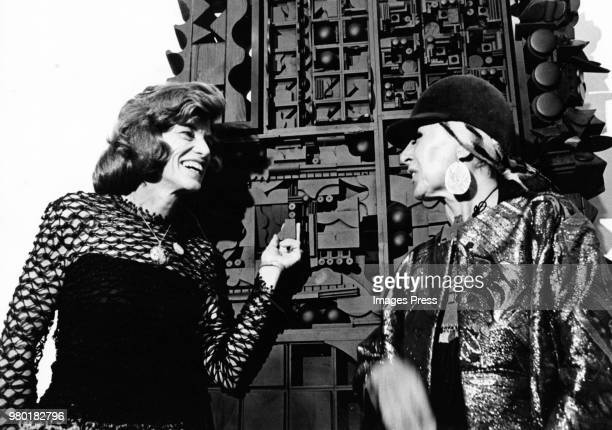 Eunice Shriver and Louise Nevelson circa 1972 in New York