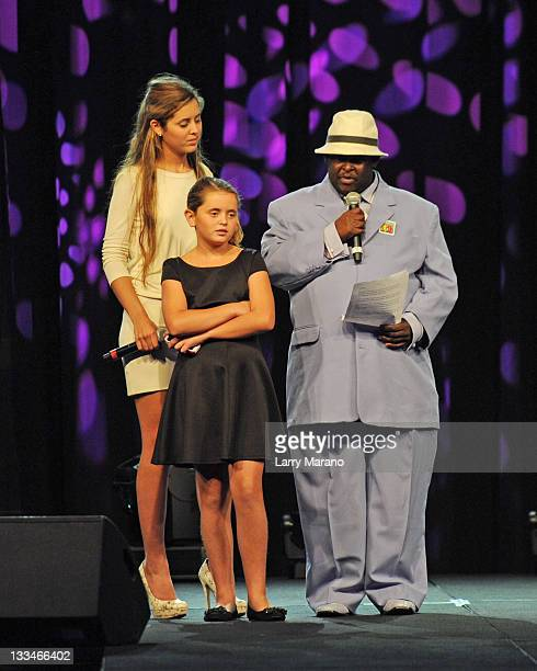 Eunice Shriver Carolina Shriver and Buddy attend The Fifteenth Annual Best Buddies Miami Gala at Fontainebleau Miami Beach on November 18 2011 in...