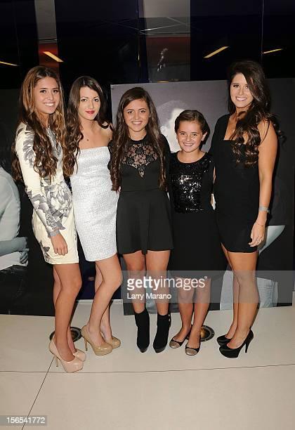 Eunice Shriver Kyra Kennedy Francesca Shriver Carolina Shriver and Katherine Schwarzenegger attend the Zenith Watches Best Buddies Miami Gala at...