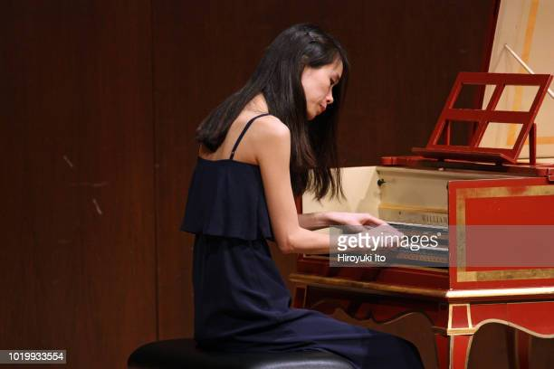 Eunji Lee on harpsichord plays the music of Francois Couperin in the Juilliard School's Historical Performance L'Art de toucher le clavecin at Paul...