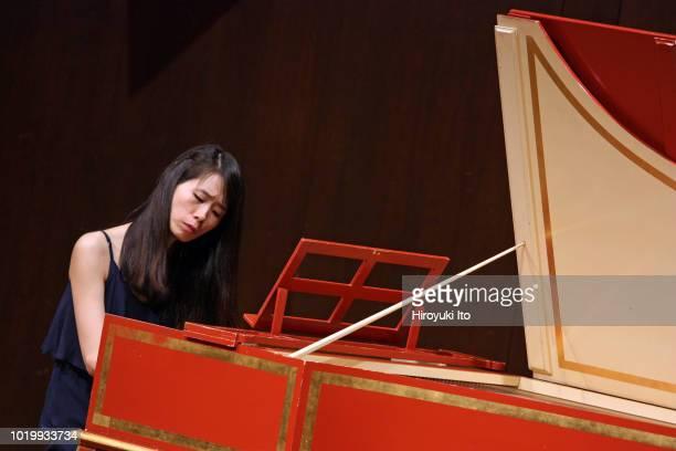 Eunji Lee on harpsichord plays the music of Francois Couperin in the Juilliard School's Historical Performance L'Art de toucher le clavecin at Paul...