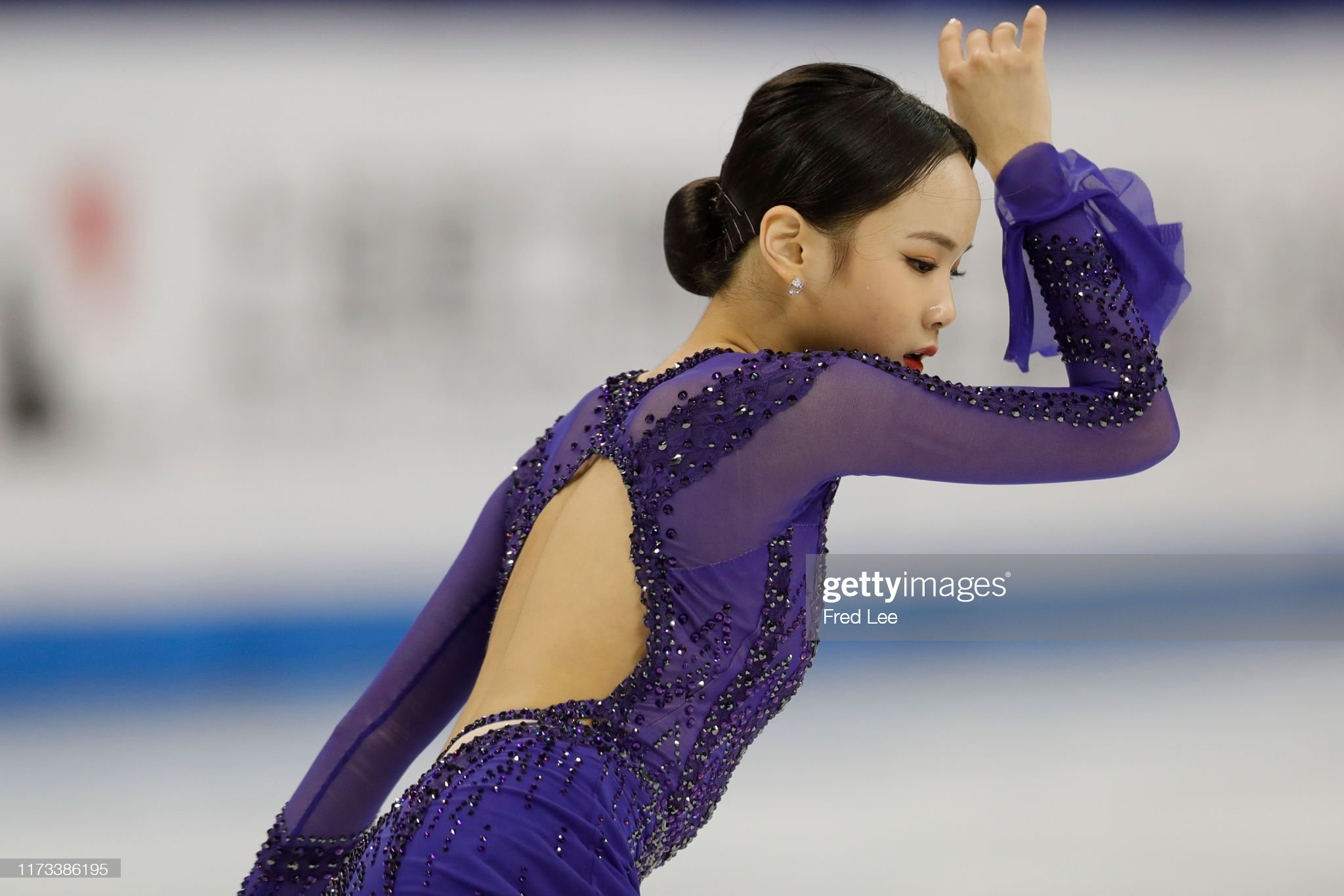 Shanghai Trophy (Invitational). 3-5 октября 2019. Шанхай (Китай) - Страница 3 Eunsoo-lim-of-korea-competes-in-the-ladies-short-program-during-the-picture-id1173386195?s=2048x2048