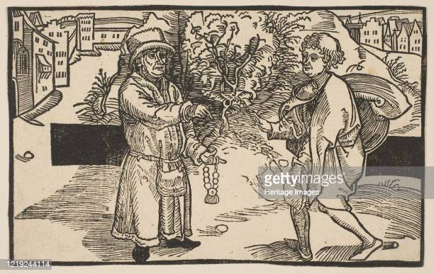 Eunuches, from The Comedie of Terence, 19th century reprint. Artist Albrecht Durer.