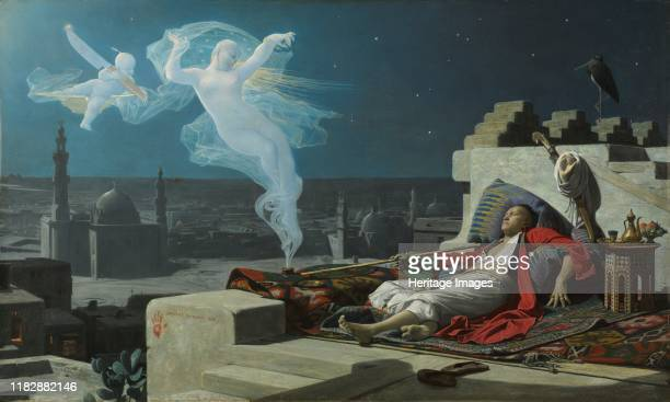 Eunuch's Dream, 1874. This painting, inspired by Charles Montesquieu's Persian Letters , depicts a eunuch who wanted to marry a harem slave. He...
