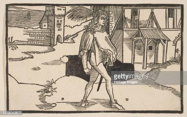 Eunuchus, from The Comedie of Terence, 19th century reprint. Artist Albrecht Durer.