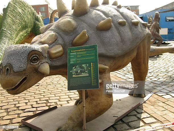 Euoplocephalus DinosaurierAustellung 'Die Welt der Dinos' 'Im Reich der Giganten' Messe Centrum Bremen Deutschland Europa Ausstellung ausgestorbenes...