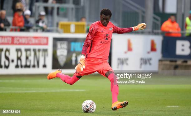20180428 Eupen Belgium / Kas Eupen v Sporting Lokeren / 'nBabacar NIASSE'nFootball Jupiler Pro League 2017 2018 PlayOff 2 Matchday 6 / 'nPicture by...
