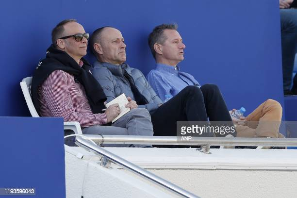 Eupen general director Christoph Henkel during a international friendly match between PSV Eindhoven and KAS Eupen at Aspire Academy on January 11,...