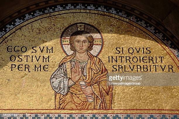 ART CROATIA Euphrasian Basilica Byzantine church built in the sixth century World Heritage Site by UNESCO in 1997 Mosaic in the tympanum of the...