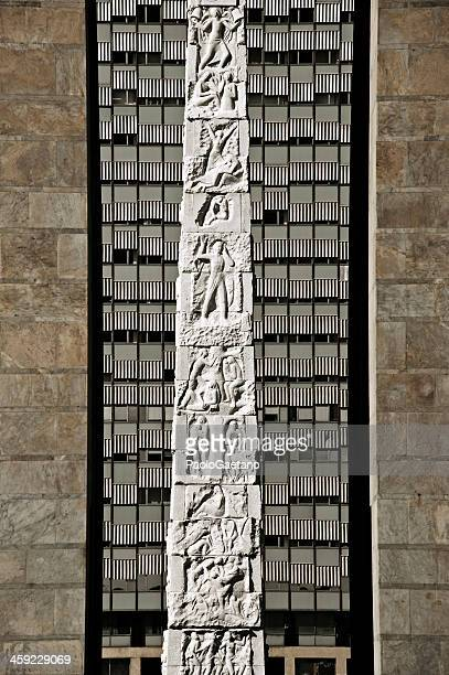 eur obelisk - eur rome stock pictures, royalty-free photos & images