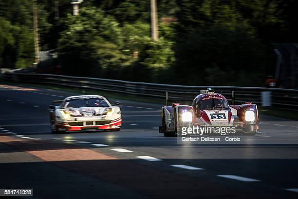 Eurasia Motorsport , #33 Oreca 05 Nissan, with Drivers Pu Junjin , Tristan Gommendy and Nico Pieter De Bruijn during the 84th running of the Le Mans...
