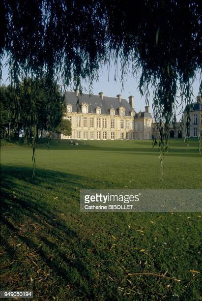 the west wing of the castle of Anet Offered by the king Henri II to his mistress Diane de Poitiers this castle was built between 1547 and 1555 by the...