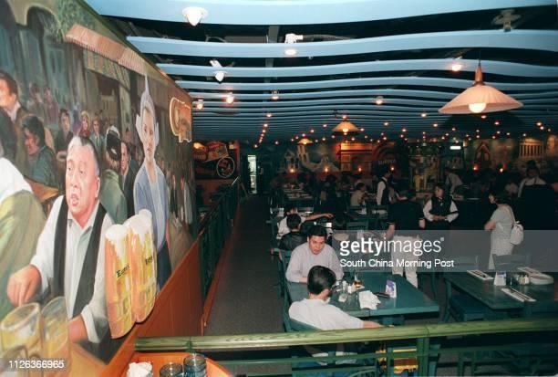 Eureka Casual Euromerican Dining at 13/F Times Square Causeway Bay 18 aug 98