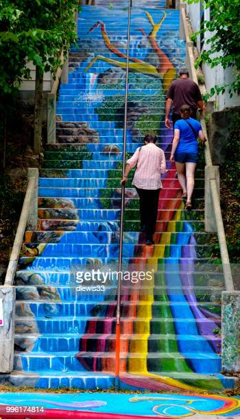 eureka springs street art - arkansas stock photos and pictures