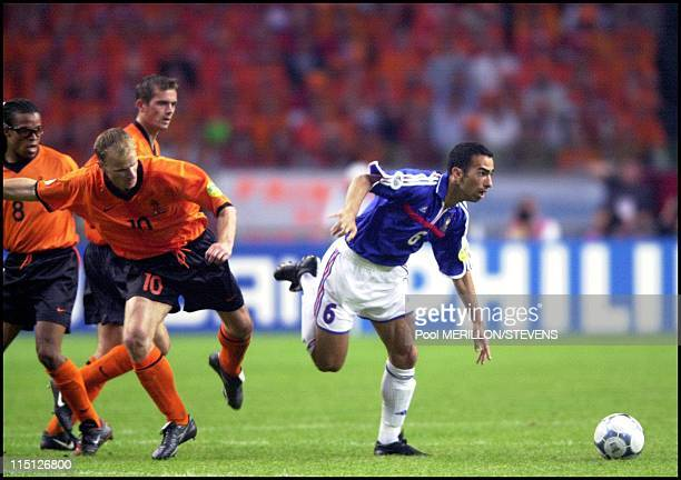 Euro 2000 NetherlandsFrance in Amsterdam Netherlands on June 21 2000 Youri Djorkaeff