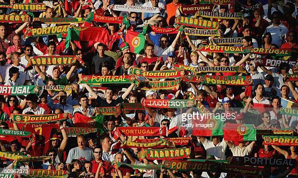 Euro 2004 Russia v Portugal