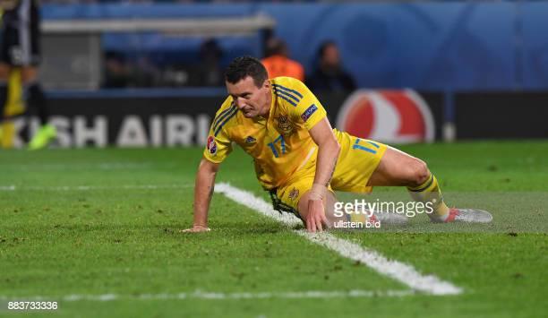 FUSSBALL Euro 2016 GRUPPE C in LILE Deutschland Ukraine Artem Fedetskiy