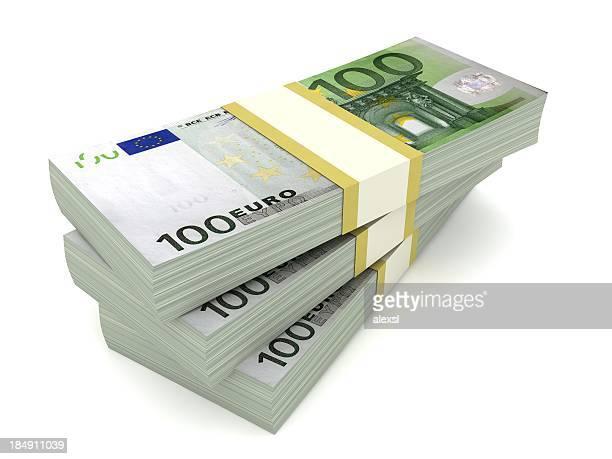 banconote in euro - banconote euro foto e immagini stock
