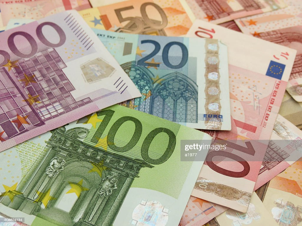 Euro banknotes : Stock Photo