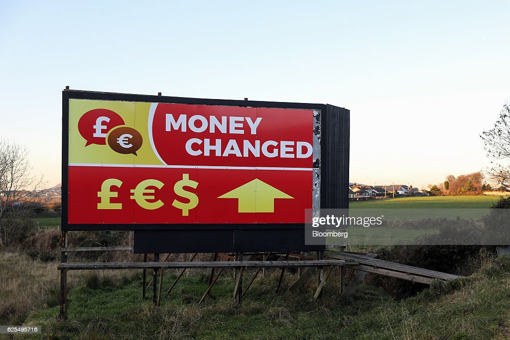 Currency Exchanges At The Border Between Northern Ireland And