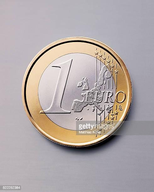 euro coin - euro stock-fotos und bilder