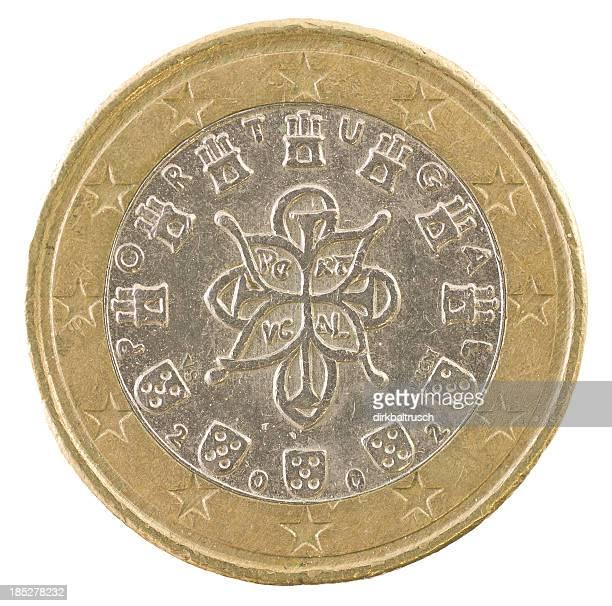 euro münze rückseite - revers stock-fotos und bilder