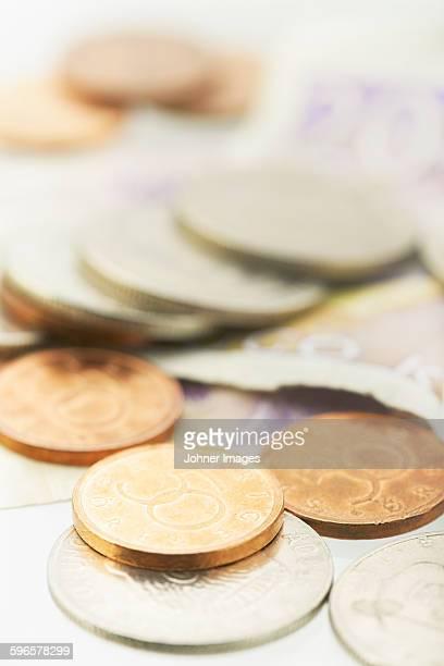 euro coins - スウェーデン通貨 ストックフォトと画像